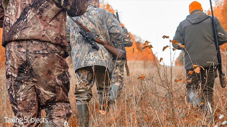 Hunting, Fishing Tax Hits the Mark