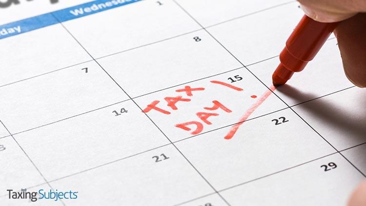 Delayed Deadline Lets Tax Filings Lag