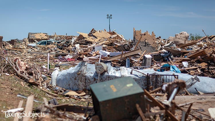 More Tax Relief for Tornado Victims