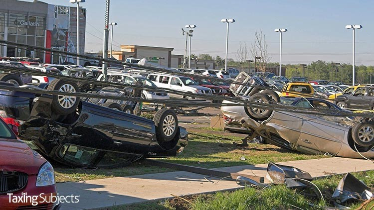 Tennessee Storm Victims Get Tax Relief